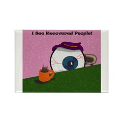 Recovered Rectangle Magnet (100 pack)