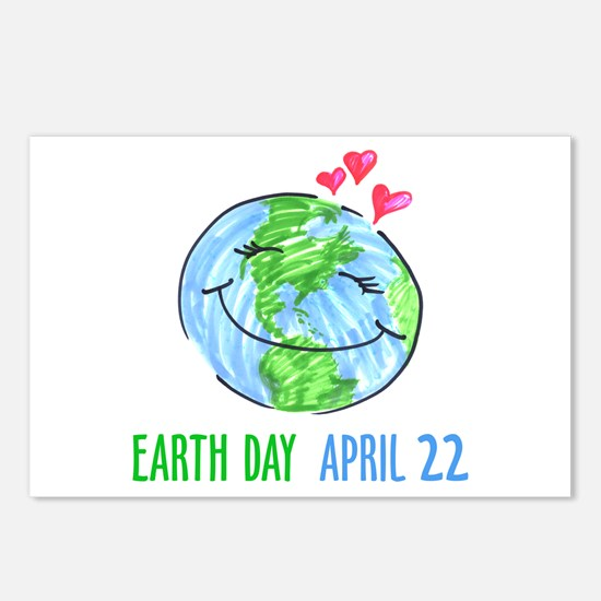 Earth Day April 22 Postcards (Package of 8)