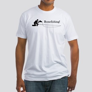 """Bonefishing!"" Fitted T-Shirt"