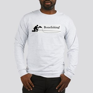 """Bonefishing!"" Long Sleeve T-Shirt"