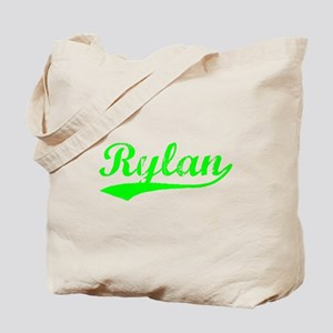 Vintage Rylan (Green) Tote Bag