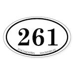 261st CA Euro Sticker