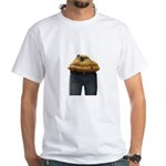 MuffinTopper White T-Shirt