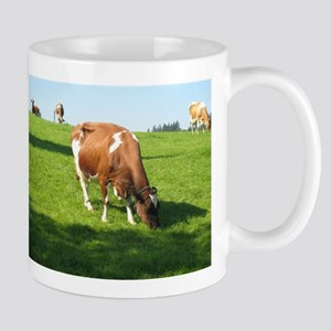 Guess What That Cow Is Having For Lunch ! Mugs