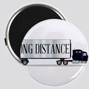 Truck Tractor Unit And Trailer With Long D Magnets
