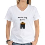 Muffin Lover Women's V-Neck T-Shirt