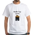 Muffin Lover White T-Shirt