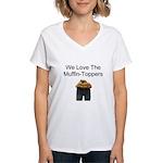 We all Love em.. Women's V-Neck T-Shirt