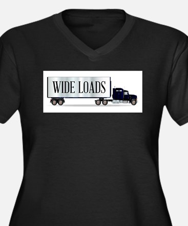 Truck Tractor Unit And Trailer W Plus Size T-Shirt