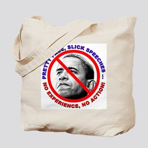 Anti-Obama No Experience Tote Bag