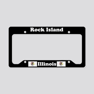 Rock Island, IL License Plate Holder