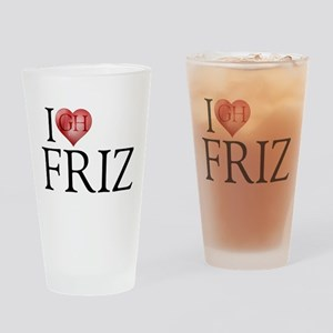 I Heart Friz Drinking Glass