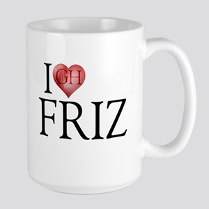 I Heart Friz 15 oz Ceramic Large Mug