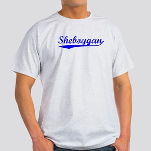 Vintage Sheboygan (Blue) Light T-Shirt