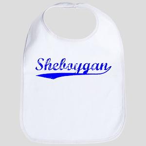 Vintage Sheboygan (Blue) Bib