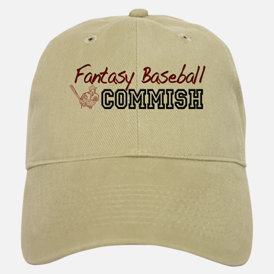 Fantasy Baseball Commish Baseball Baseball Cap
