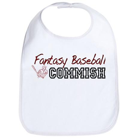 Fantasy Baseball Commish Bib