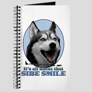 Gray Sibe Smile Journal