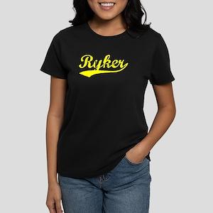 Vintage Ryker (Gold) Women's Dark T-Shirt
