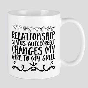 Relationship status: Autocorrect changes my g Mugs
