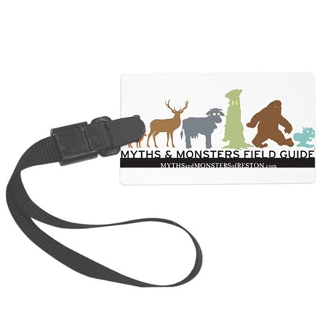 Myths & Monsters Field Guide Creatures Luggage Tag