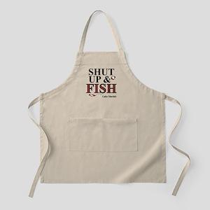 Shut Up & Fish BBQ Apron