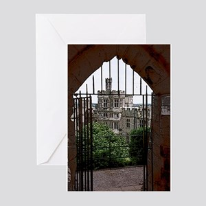 4-3-warwick gate poster edges Greeting Cards