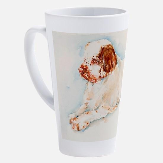 Cute Clumber spaniel 17 oz Latte Mug