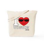 I Love Tustin Tote Bag