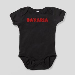 Retro Bavaria (Red) Infant Bodysuit Body Suit