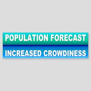 POPULATION Bumper Sticker