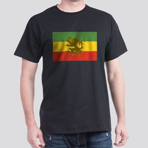 Rasta Lion of Judah Dark T-Shirt