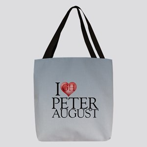 I Heart Peter August Polyester Tote Bag