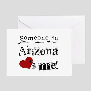 Someone in Arizona Greeting Card
