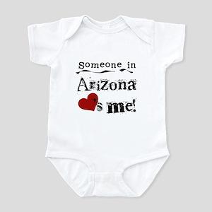 Someone in Arizona Infant Bodysuit