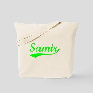 Vintage Samir (Green) Tote Bag