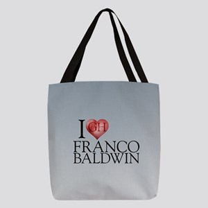 I Heart Franco Baldwin Polyester Tote Bag