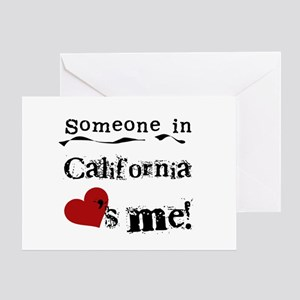 Someone in California Greeting Card