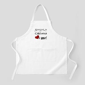 Someone in California BBQ Apron