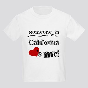 Someone in California Kids Light T-Shirt