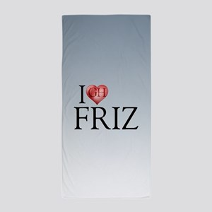 I Heart Friz Beach Towel