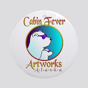 CABIN FEVER ARTWORKS Ornament (Round)