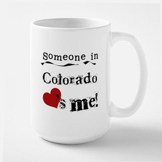 Someone in Colorado Large Mug