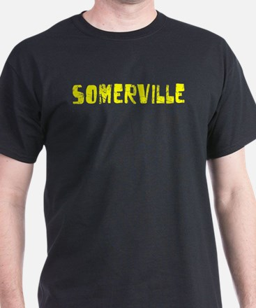 Somerville Faded (Gold) T-Shirt