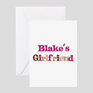 Blake's Girlfriend Greeting Card