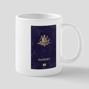 Australian Worn Passport Mugs