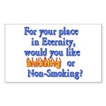 Eternity - Your Choice Rectangle Sticker