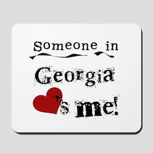 Someone in Georgia Mousepad