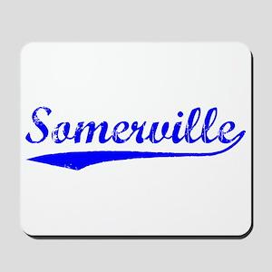 Vintage Somerville (Blue) Mousepad