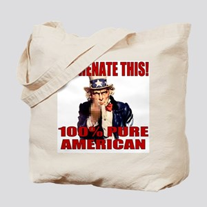 Hyphenate THIS! Angry American Tote Bag